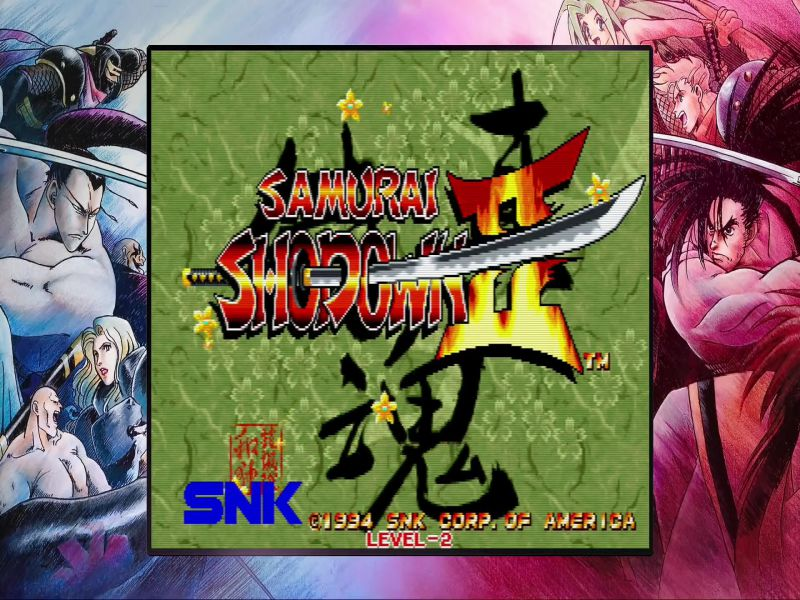 SAMURAI SHODOWN NEOGEO COLLECTION Highly Compressed Free Download