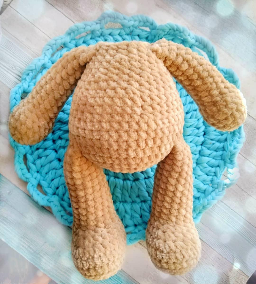Crochet bear tutorial body