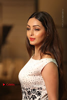 Actress Pooja Salvi Stills in White Dress at SIIMA Short Film Awards 2017 .COM 0155.JPG