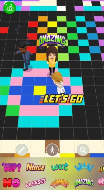 سناب شات يصدر لعبته الجديدة Bitmoji Paint