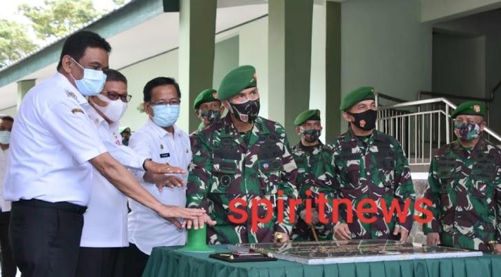 Pangdam Hasanuddin Pimpin Upacara Peresmian Brigif 11/Badik Sakti dan Alih Kodal Satuan