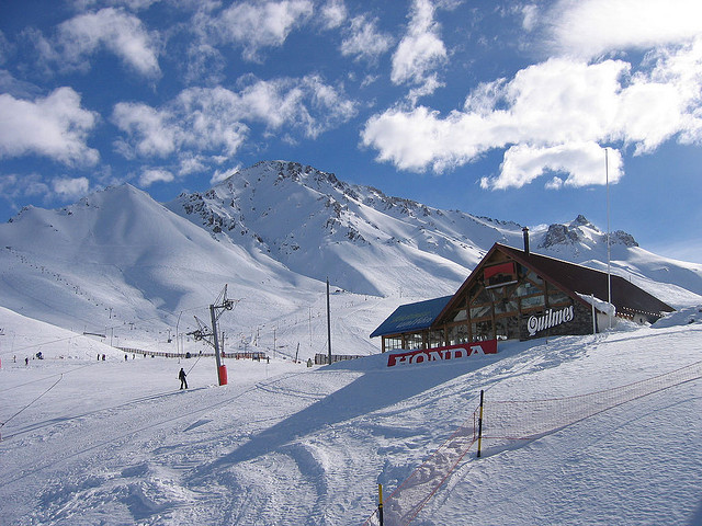 las lenas ski lodge