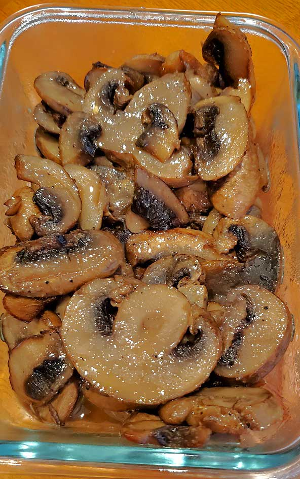 these are sauteed mushrooms with marsala wine