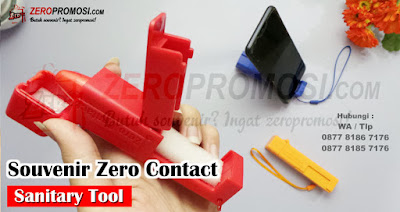 SANITARY TOOLS ZERO CONTACT, Alat Bantu Pencet Lift & Buka Pintu, Apd tool zero contact tool, Portable Sanitary Tool for Zero Contact, Zero Touch Tool Avoid Contact, Anti Epidemic Tool