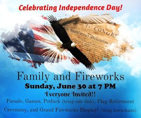 Family and Fireworks is tonight in Bossier City — one of the largest fireworks displays in Louisiana!