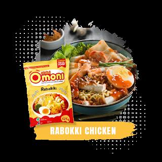 Omoni-Rabokki-Chicken