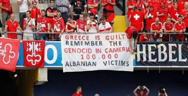 Greece is guilty. Remember the genocide of 100,000 ethnic Albanian victims