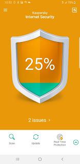 تطبيق Kaspersky Mobile Antivirus