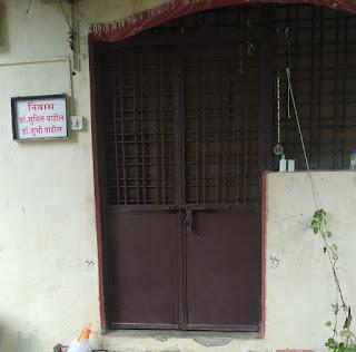 शहर के लालबाग रोड़ स्थित डॉक्टर के मकान में हुई घटना