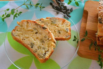 Chleb dyniowy bez drożdży