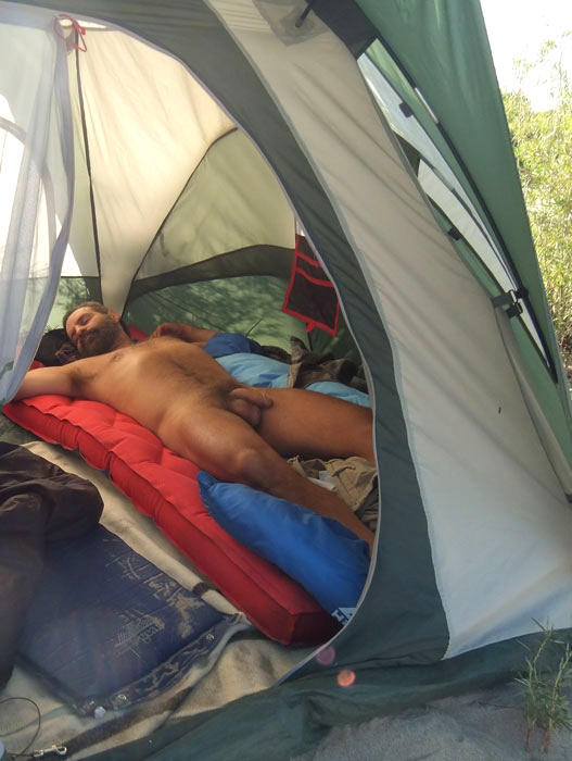 Orgy nude male camping