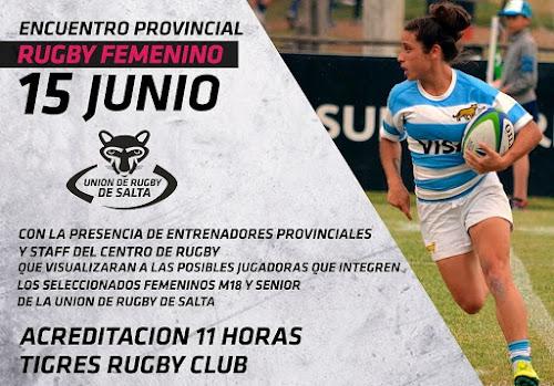 Salta: Encuentro Provincial de Rugby Femenino