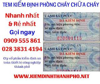 Tem Kiem Dinh Binh Chua Chay