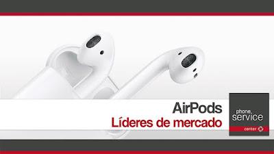 Beats Airpods lideran ventas
