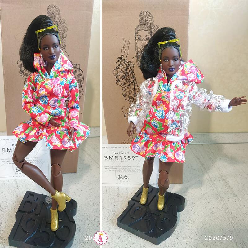 Коллекционная кукла Барби африканка