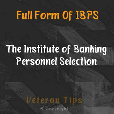 Full form of ibps