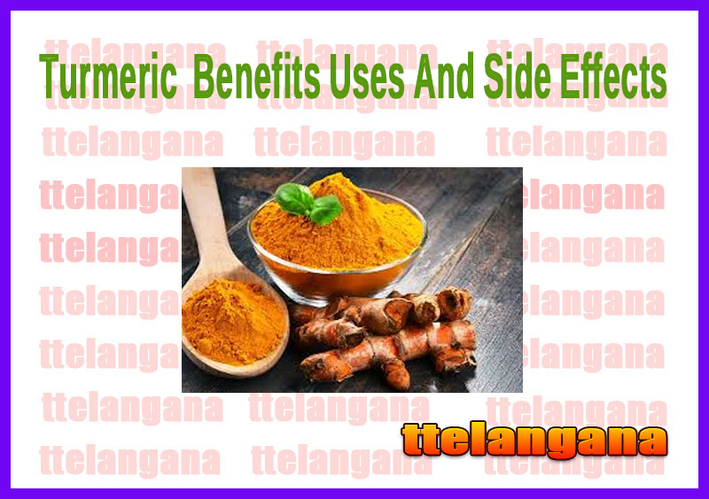 Turmeric  Benefits Uses And Side Effects