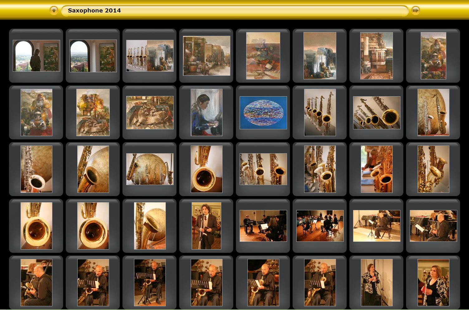 Saxophone Conservatorio Perugia