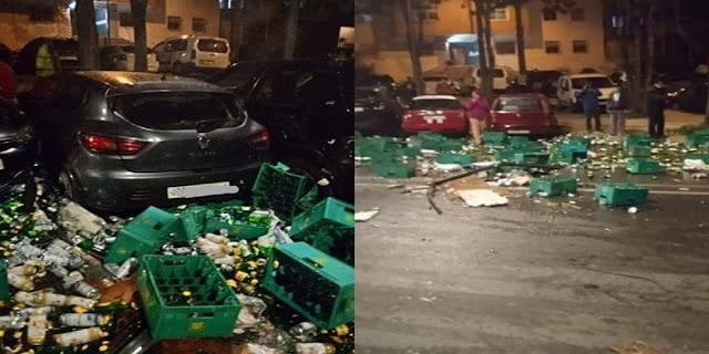 Un chauffeur arrêté à Rabat pour ivresse, transport de boissons alcoolisées volées et provocation d'accident, 12 autres personnes arrêtées