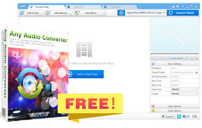 Descargar Any Audio Converter Freeware para Windows