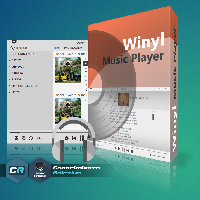 Winyl Music Player