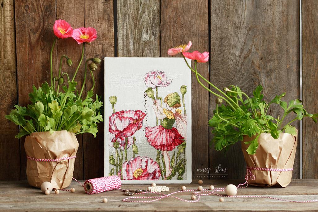 The shirley poppy fairy - Cicley Mary Barker, DMC #3