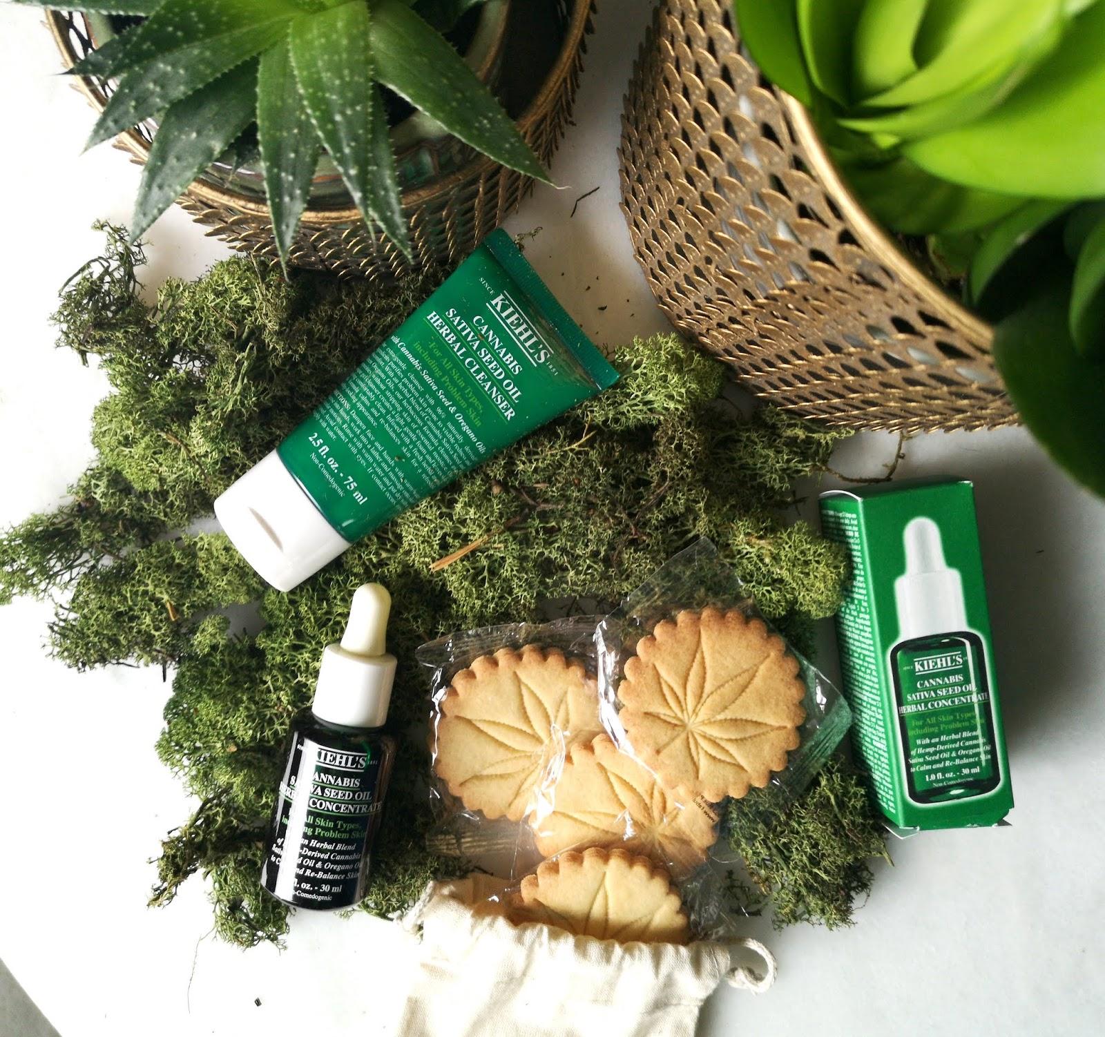 Haaaaaiiii!! | Kiehls Cannabis Sativa Seed oil herbal collectie