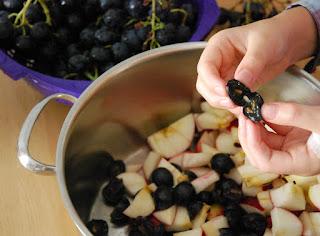 Gelée de raisins noirs