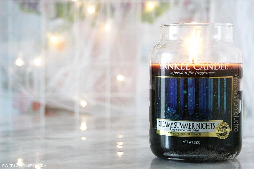 świeca zapachowa yankee candle dreamy summer nights