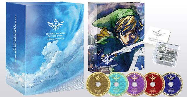 The Legend of Zelda: Skyward Sword (Wii) terá sua trilha sonora lançada em formato físico no Japão