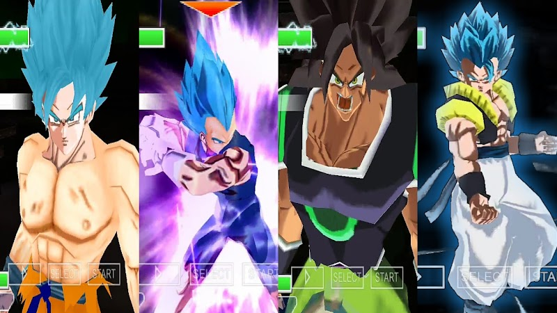 Dragon Ball Super Android Game Tenkaichi Tag Team Mod