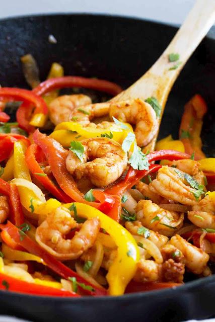Cajun Shrimp with Vegetables - 3