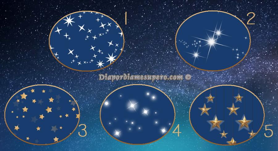 Test: Elige una estrella y descubre lo que te espera el próximo año