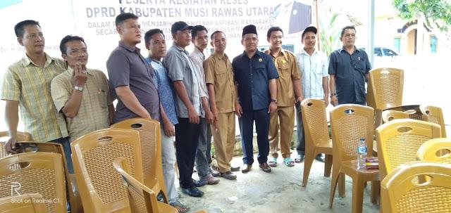 Ketua DPRD Muratara Adakan Reses Rutin Tahunan