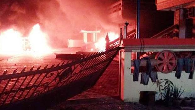 Usai Kerusuhan Massa, Situasi Tanjung Balai Masih Mencekam