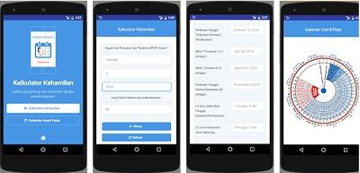 aplikasi android kalkulator kehamilan