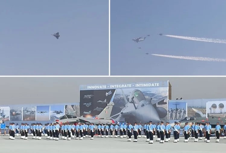 Google doodles celebrates Indian Air force day 2020 Wishes, Images, SMS, Quotes, Greetings, WhatsApp ,Facebook's, Instagram, website tuch gif