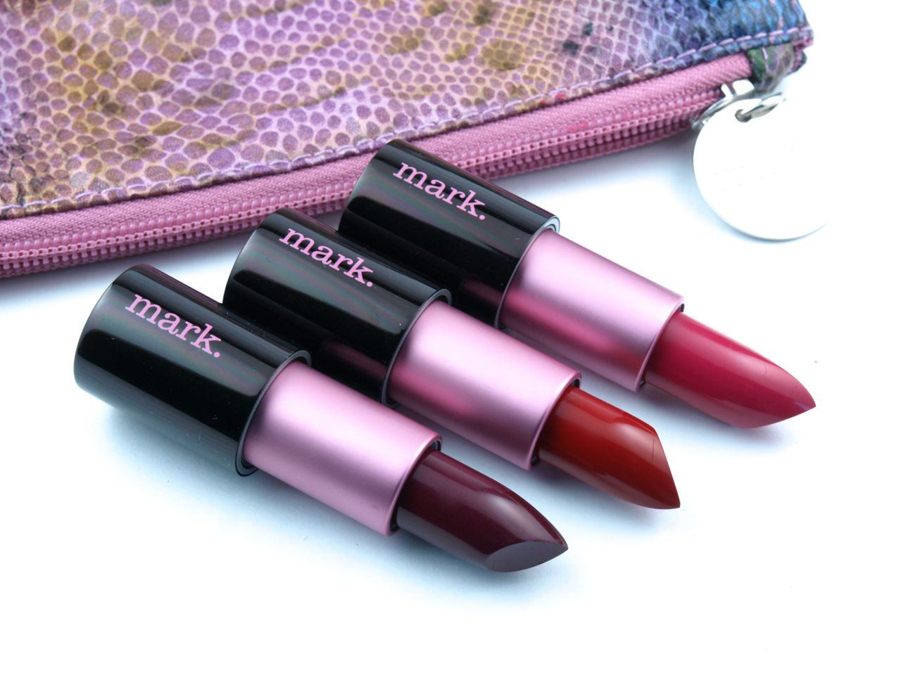 Mark. Fall 2015 Lipclick Matte Full Color Lipsticks: Review and Swatches
