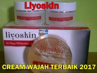 Liyoskin cream pemutih wajah terbaik 2017