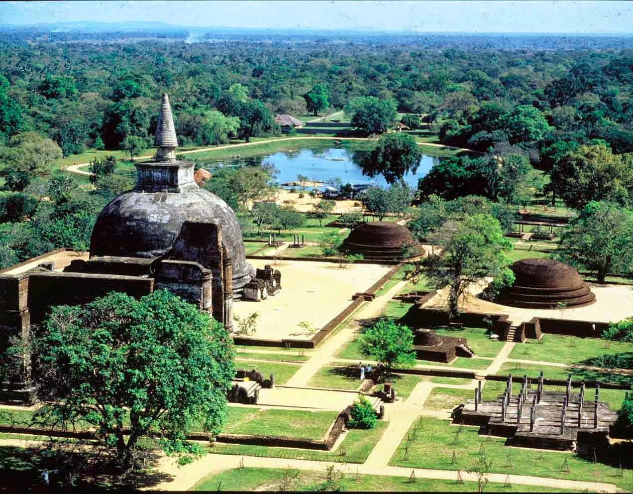 Sri Lanka, il sito di Polonnaruwa