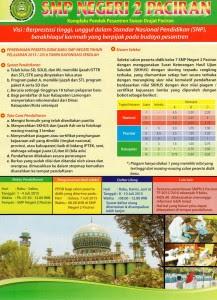 Brosur Lembaga Pendidikan di Pondok Pesantren Sunan Drajat