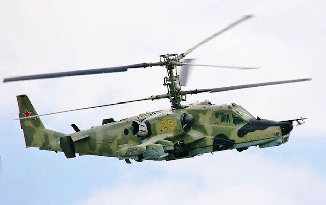 Ka-50 Rusia