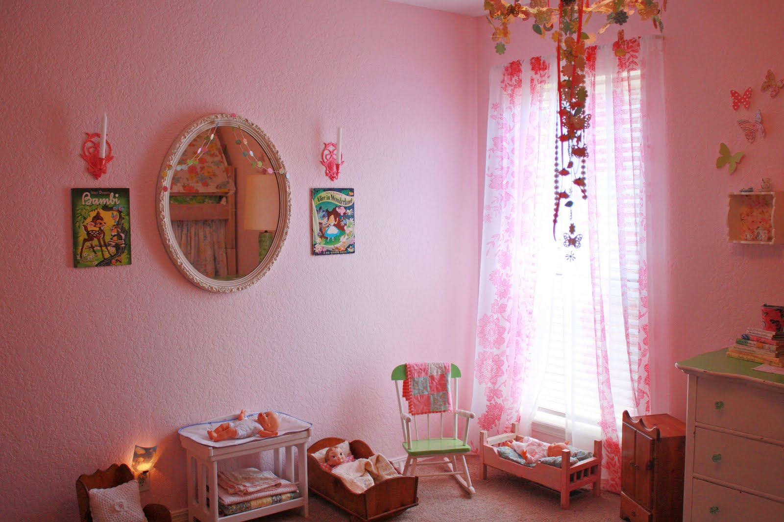 amy j. delightful blog: HOME SWEET HOME... The Girls' Room ... on Room Girl  id=53371