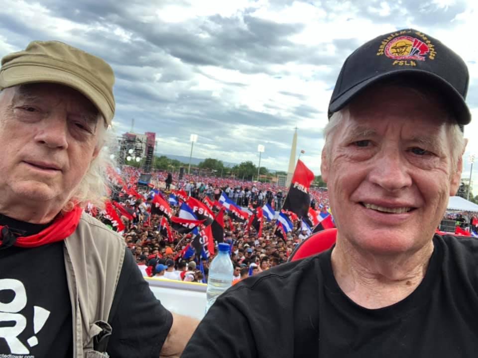 News from Europe and Latin America: Nicaragua: Sandinistas celebraron el 40  aniversario de la Liberación de Nicaragua