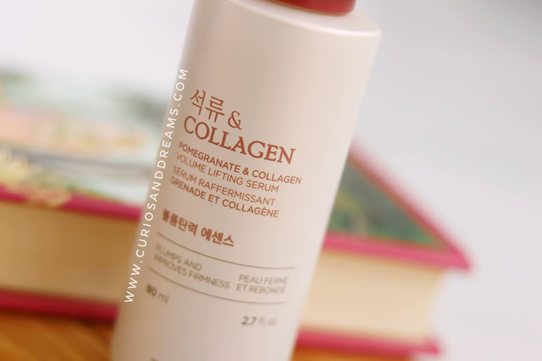 The Face Shop Pomegranate & Collagen Volume Lifting Serum review, The Face Shop Volume Lifting Serum review, The Face shop review india