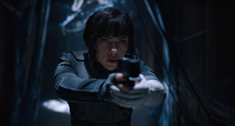 """Scarlett Johansson nos primeiros teasers da ficção """"O Fantasma do Futuro"""", de Rupert Sanders"""