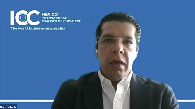 Rodolfo Rueda, vicepresidente de la Comisión de Energía de ICC Mëxico.
