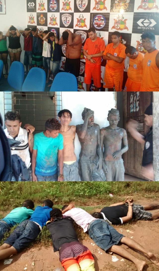 Ação rápida, 27 criminosos já foram identificados e presos acusados de participação em incêndios a coletivos em São Luís.