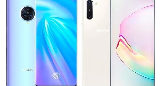 Vivo NEX 3 5G Vs Samsung Galaxy Note 10 5G Specs Comparison