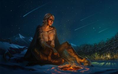 Ciri - The Witcher 3 Wild Hunt - Fond d'Écran en Quad HD 1440p